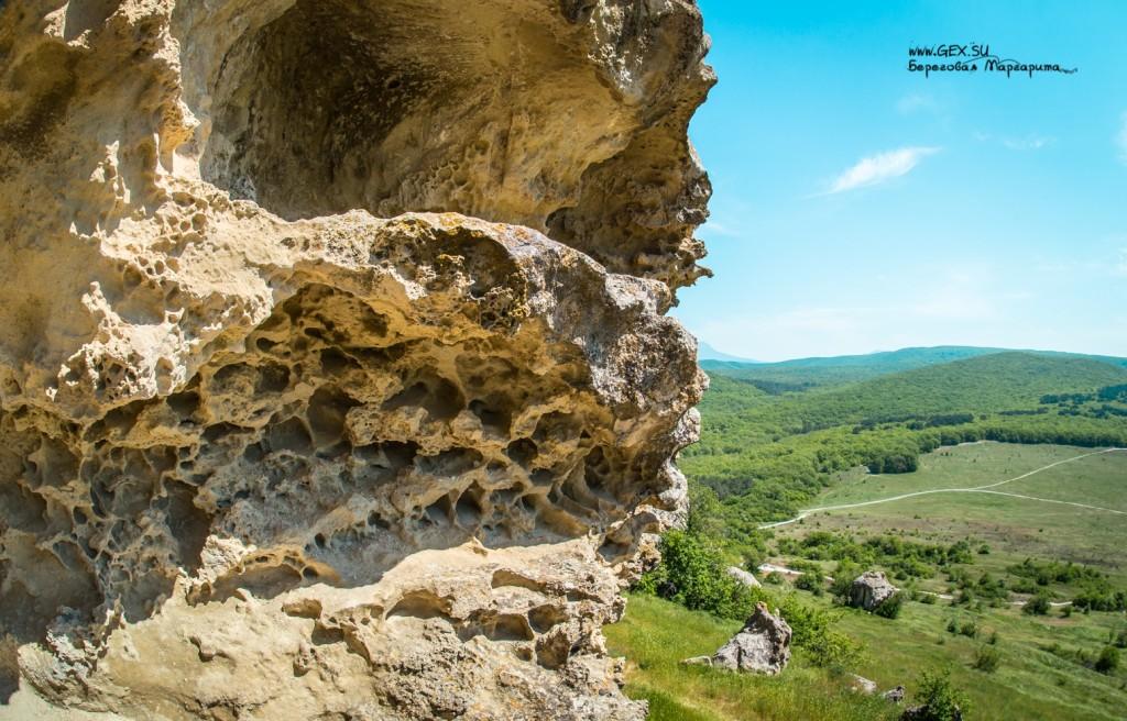 город Бакла в Крыму