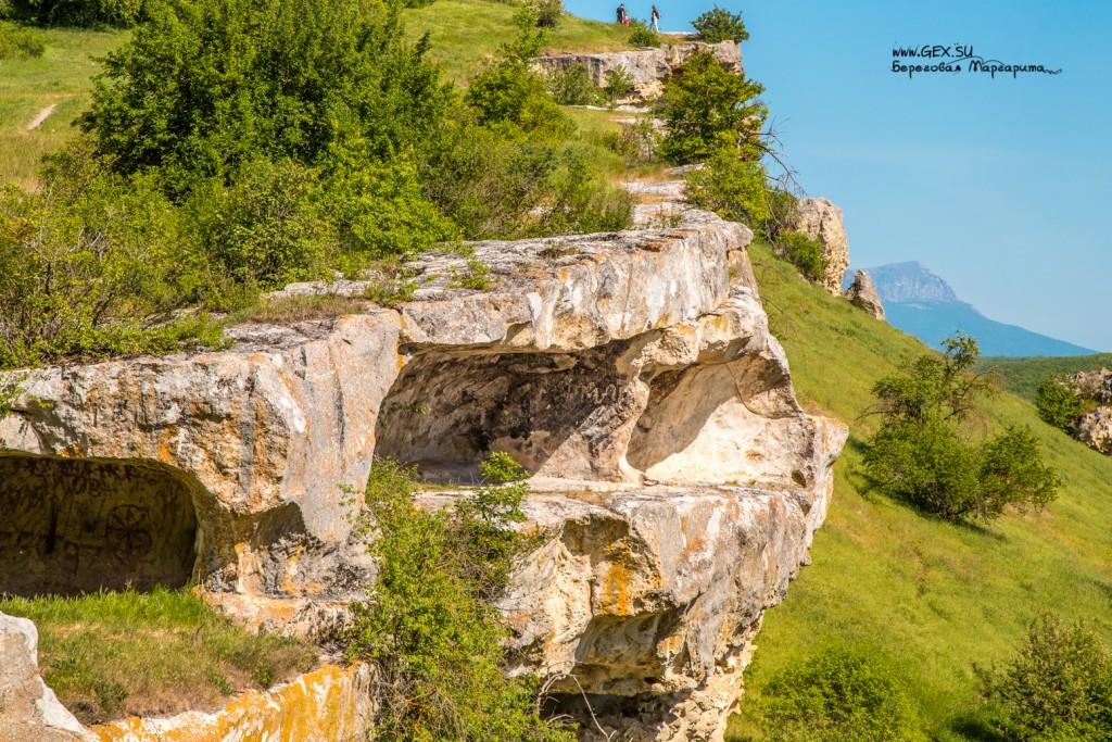 Пещерный город Бакла в Белогорске