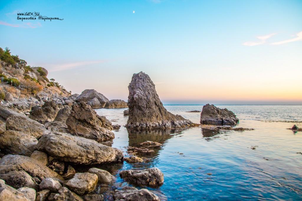 Море перед закатом