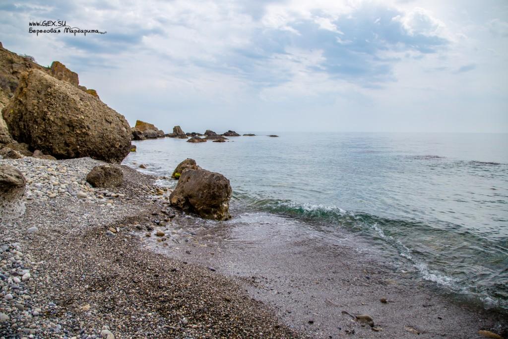 пляж на мысе Меганом